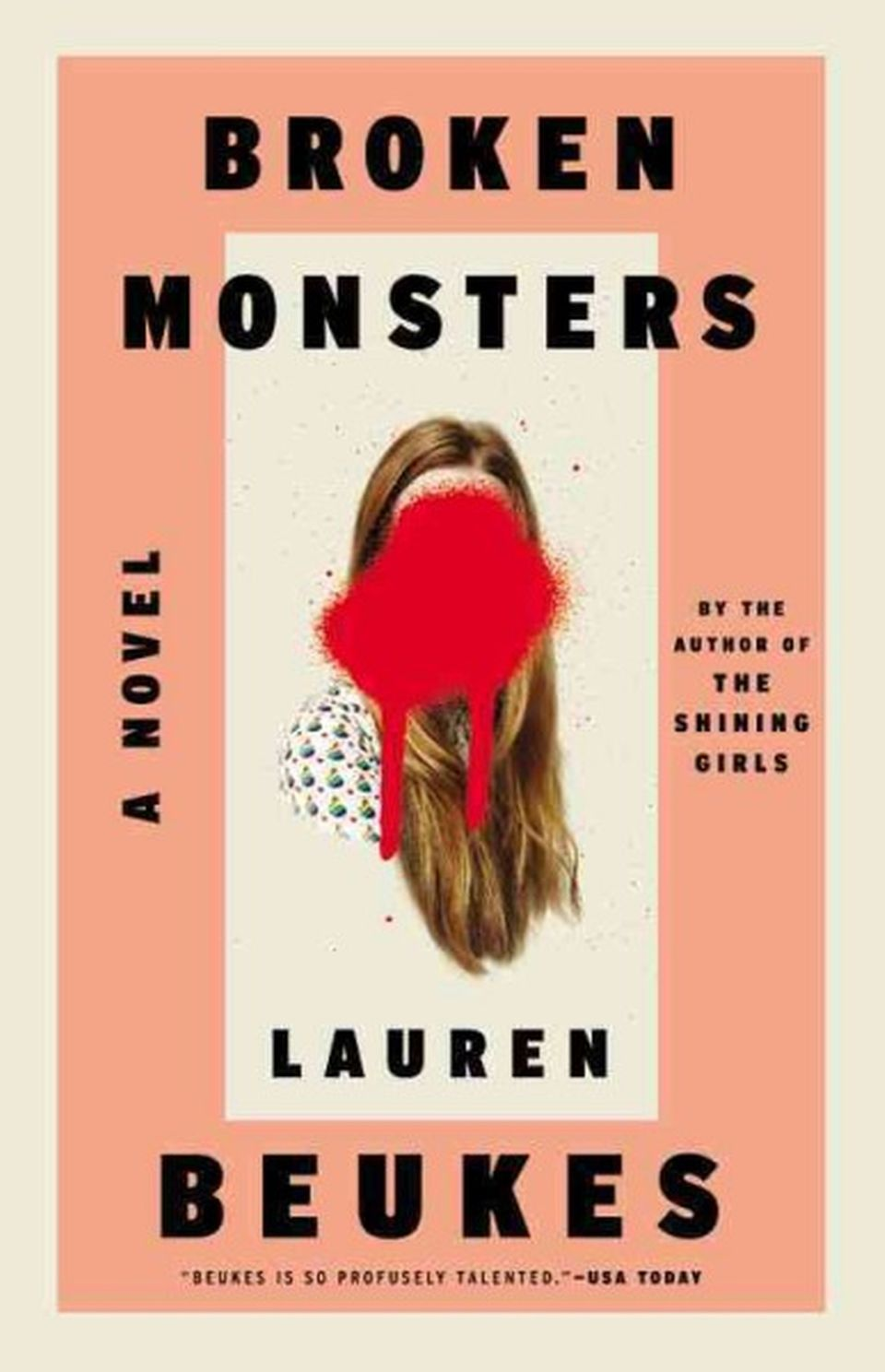 """""""Beukes gave us a time traveling serial killer in <em>The Shining Girls</em>, and the monsters in her latest tale, whether th"""