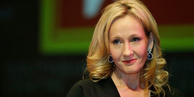 British author J.K. Rowling poses for the photographers during  photo call to unveil her new book, entitled: 'The Casual Vaca