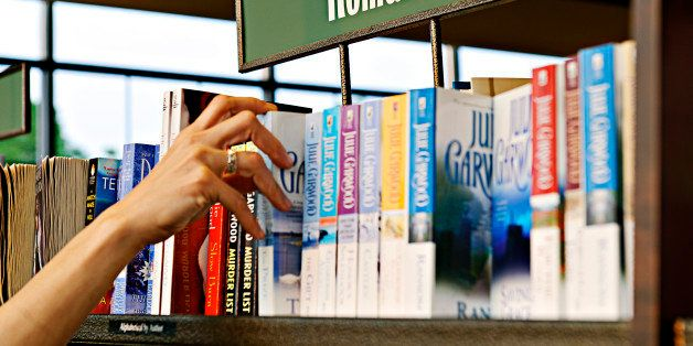 UNITED STATES - 2008/07/12: Romance novel section of a bookstore. (Photo by John Greim/LightRocket via Getty Images)