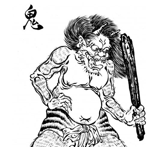 The earliest images of oni (or fi gures that would come to be associated with oni) are seen in Buddhist depictions of hell, s