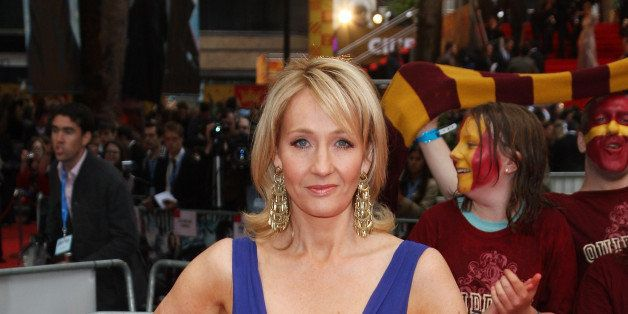 Jk Rowling Arrives For The World Premiere Of Harry Potter And The Half Blood Prince At Empire Leicester Square On July 7, 200