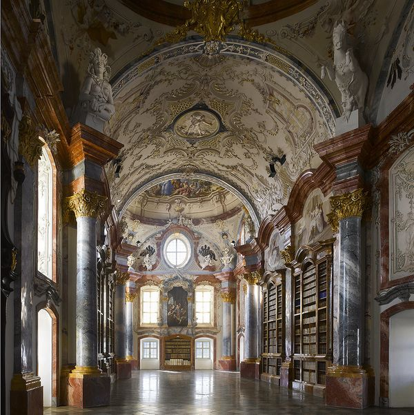 The eighteenth century saw the construction of some of the most lavish libraries ever constructed. Altenburg Abbey in Austria