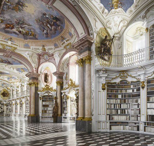 Of all the great monastery libraries of the eighteenth century, Admont, in the foothills of the Alps, is perhaps the most awe