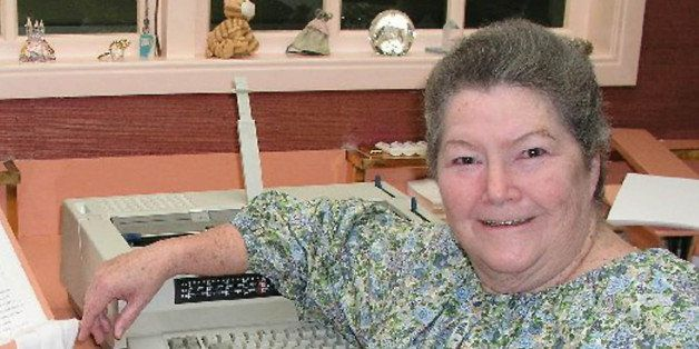 In this undated photo released by book publisher Harper Collins, best-selling author Colleen McCullough...