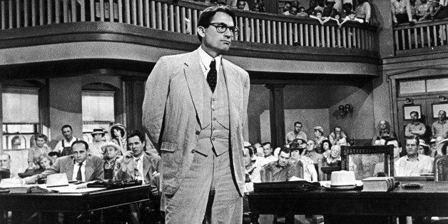 To Kill a Mockingbird (1962). Courtroom drama film in which Atticus Finch, a lawyer in the Depression-era South, defends a bl