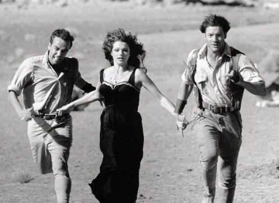 "A remake of a 1932 film, ""The Mummy"" stars Rachel Weisz as librarian, er, Egyptologist Evelyn Carnahan."