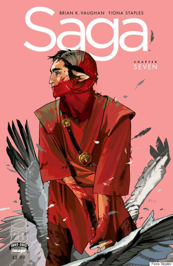 Fiona Staple's badass comic series <em>Saga</em> is reason enough to get on board with her work. It's a blend of sci-fi and f