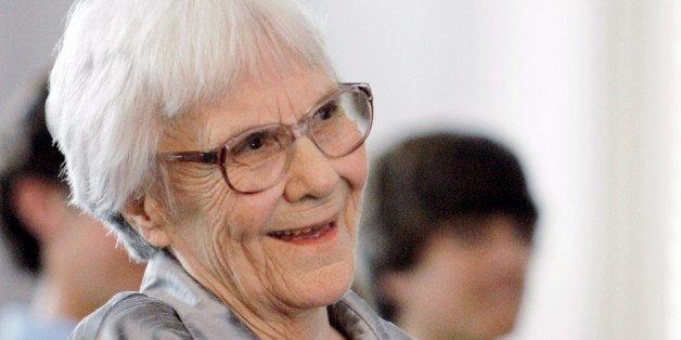 "FILE - In this Aug. 20, 2007 file photo, ""To Kill A Mockingbird"" author Harper Lee smiles during a ceremony honoring the four"