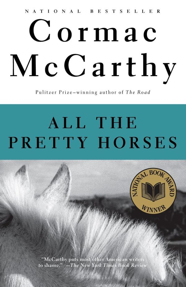 Like many Westerns, this novel lingers over the rugged landscape and traffics in the adventures of cowboys, but McCarthy's wo