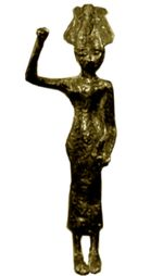This ancient Canaanite goddess of love and war is definitely someone you want on your side. Sister of the storm god Ba'al, th