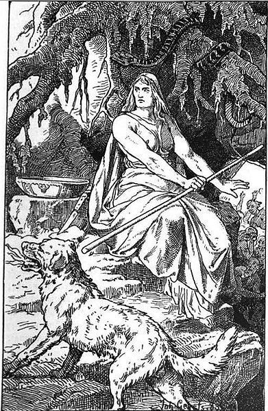 """Move over, Thor: the clearest badass in the Norse pantheon is Hel, ruler of the <a href=""""http://www.britannica.com/EBchecked/"""
