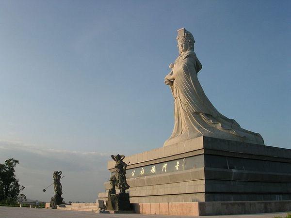 "In Chinese cosmology, Mazu <a href=""https://books.google.com/books?id=xqNsBgAAQBAJ&pg=PA248&dq=Lin+Moniang&hl=en&sa=X&ei=KkUH"