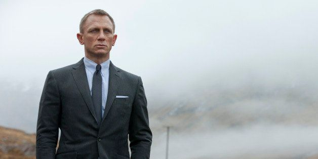 "FILE - This film image released by Columbia Pictures shows Daniel Craig as James Bond in the action adventure film, ""Skyfall."