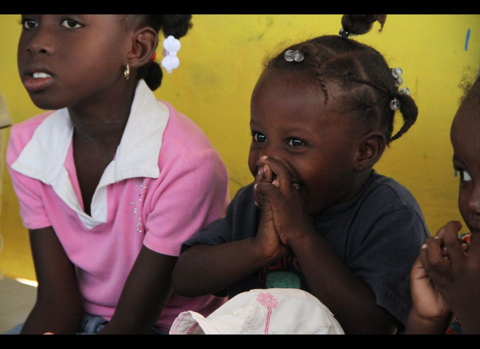 When you look at some of  Haiti's children today -- their playful eyes and wide smiles -- you might never know that they live