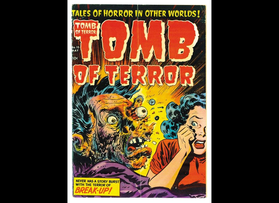 <strong>TOMB OF TERROR no. 15, May 1954  <em>Art by Lee Elias, Harvey Publications, Inc. All rights reserved. </em></strong