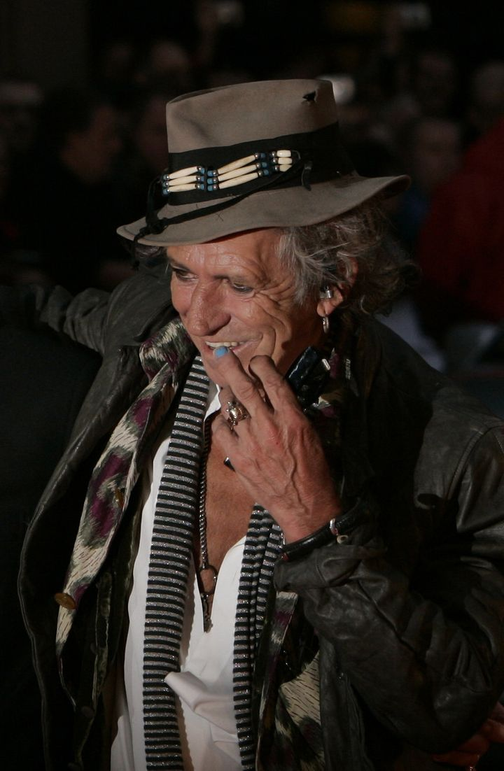 Keith Richards Lets It Bleed in Life, 547 Pages of Music And