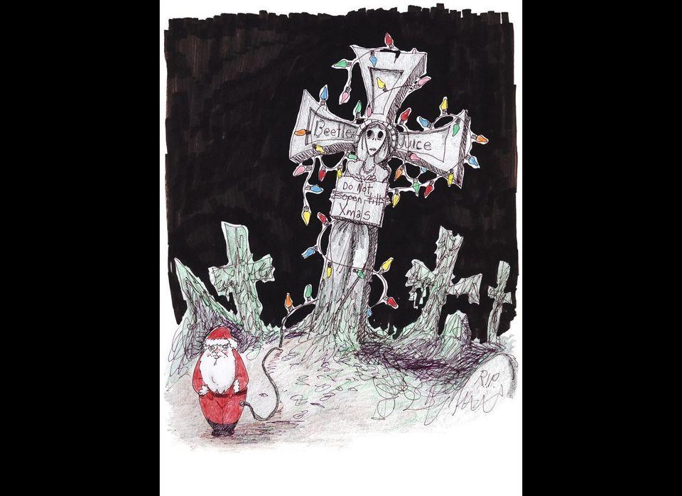 """<em>From """"<a href=""""http://www.timburton.com/"""" target=""""_hplink"""">The Art of Tim Burton</a>"""" from <a href=""""http://www.steelespub"""