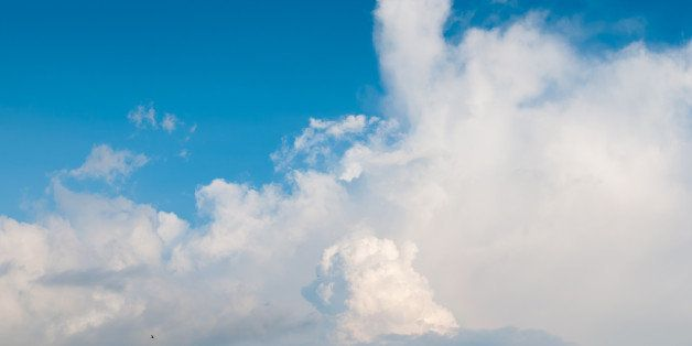 Dramatic Cloudy Sky .