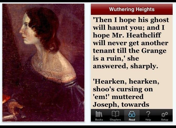 "While Victorian literature isn't, admittedly, for everyone, <a href=""http://itunes.apple.com/us/app/wuthering-heights-by-emil"