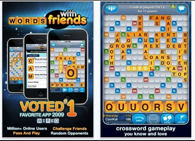 Admit it. Everyone you know (or, almost everyone) plays Words With Friends. The game is modeled after Scrabble...but it's fre