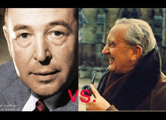 The two had major disagreements about religion. J.R.R. Tolkien was upset by C.S. Lewis's blatantly clear Christian symbolism