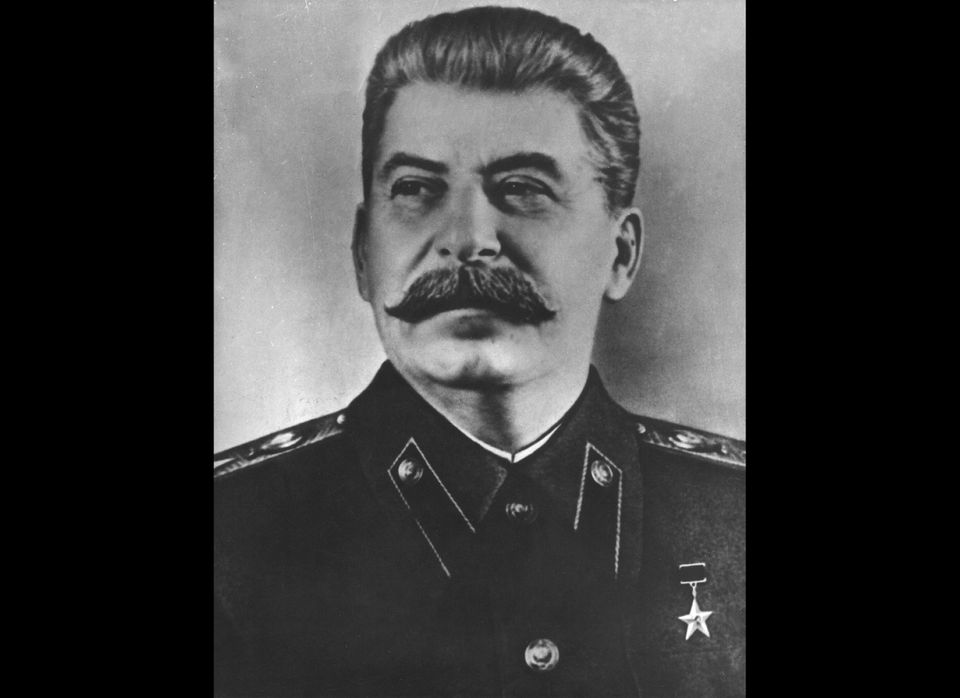 If asked who was the more stylish, Hitler or Stalin, you would have to go for Stalin, because of the mustache. That's not to