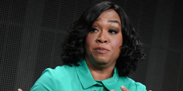 """Creator/executive producer Shonda Rhimes speaks onstage during the """"Grey's Anatomy,"""" """"Scandal,"""" """"How to Get Away wi"""