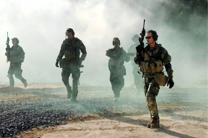 Navy Seals Go From Superheroes To Sex Symbols Huffpost