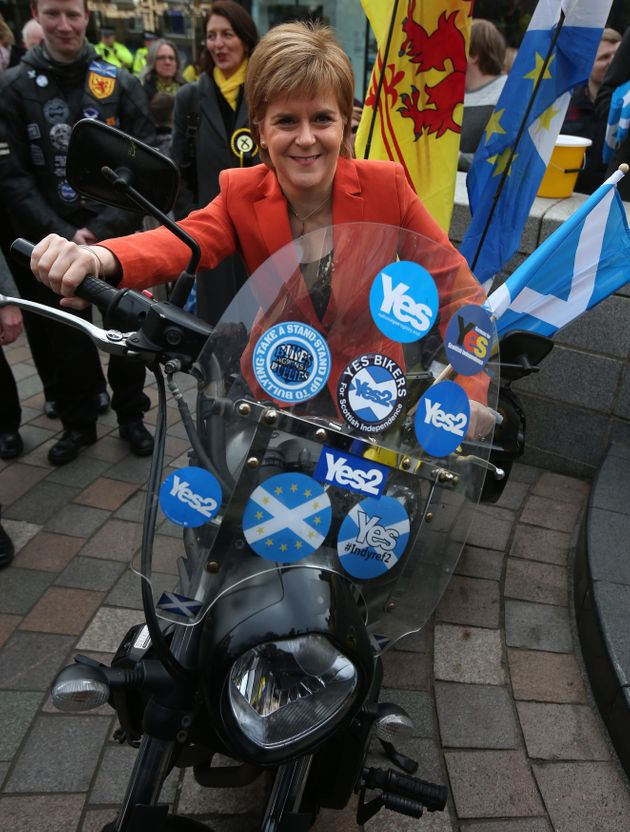 Nicola Sturgeon has said the Brexit referendum makes a re-run of the Scottish independence referendum...