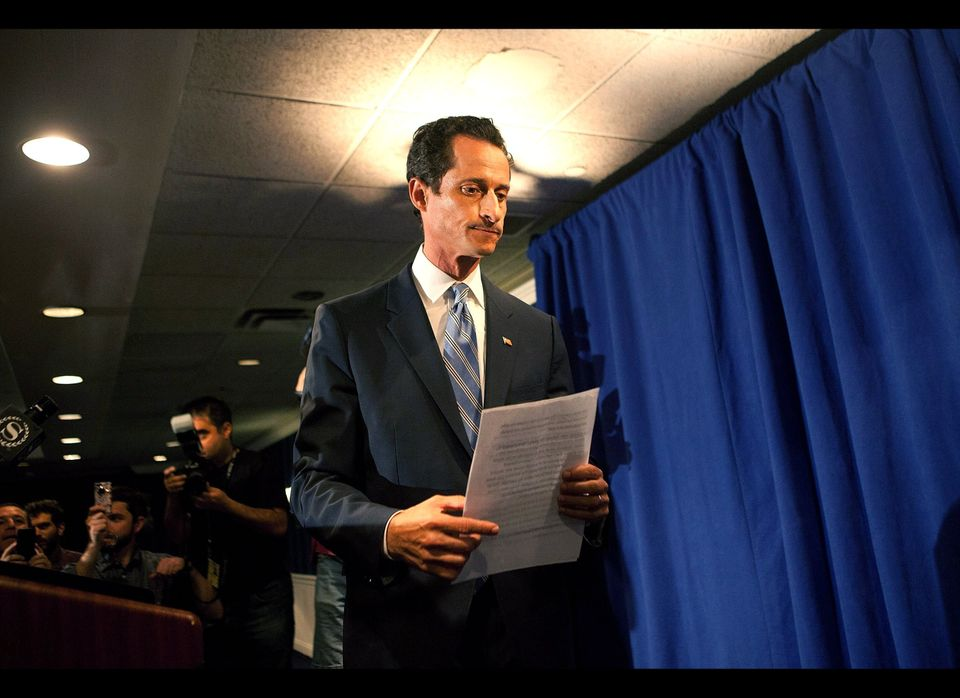 Anthony Weiner, married Congressman from New York City, admitted sending sexy emails and Twitter messages to college-age wome
