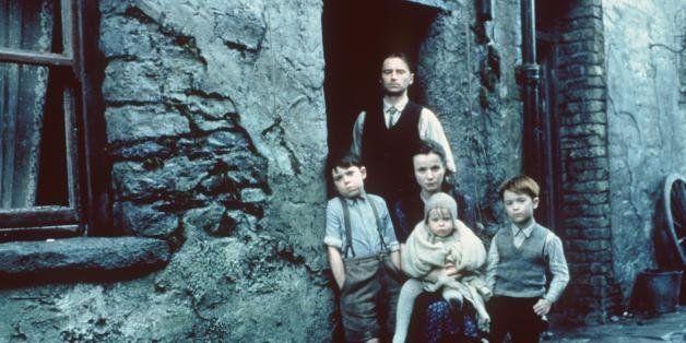 2000 Joe Breen,Robert Carlyle, Emily Watson, Sean/Oisin Carney Daly and Shane Murray Corcoran star in 'Angela's Ashes.' Photo