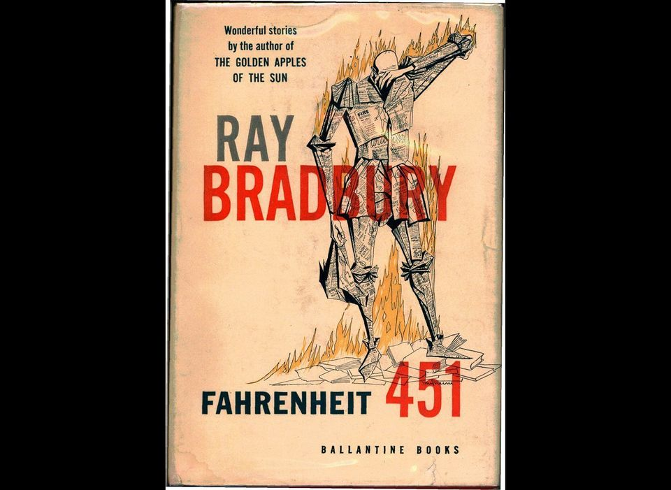Although author Ray Bradbury has been quoted stating that  <em>Fahrenheit 451</em> (Ballentine, 1953) was not about censorshi