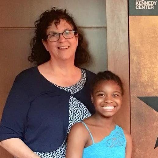 Karen Dresser and her 12-year-old daughter, Amelia.
