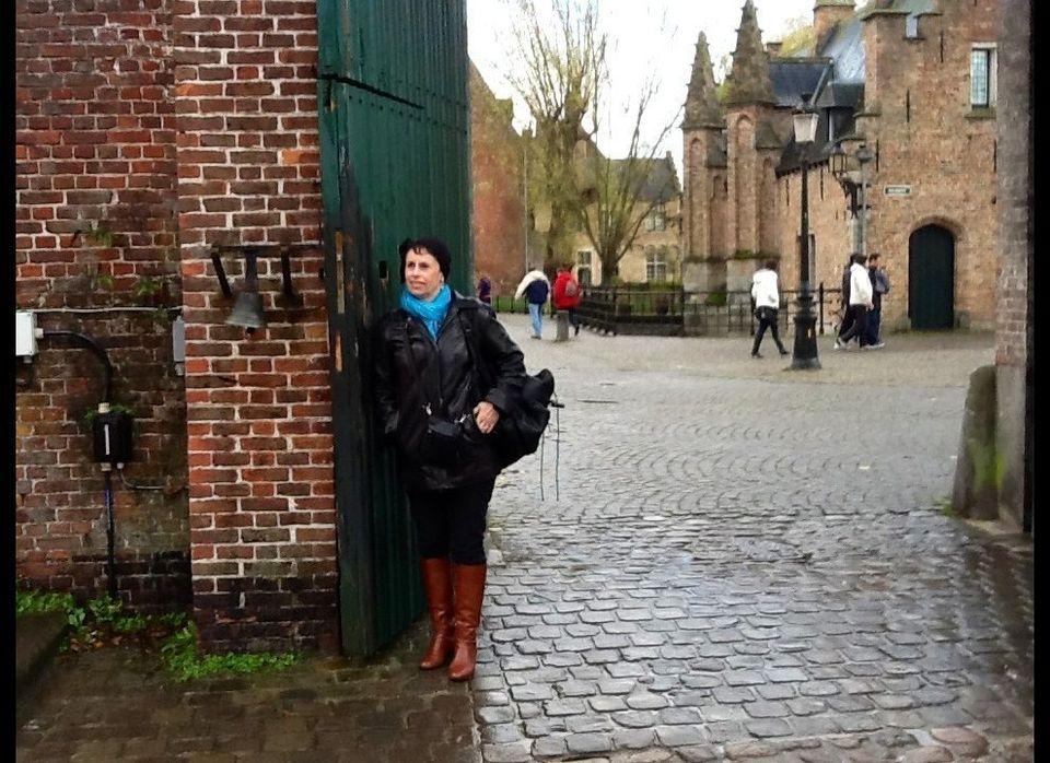 Susan Fabrikant in Brugge, Belguim.
