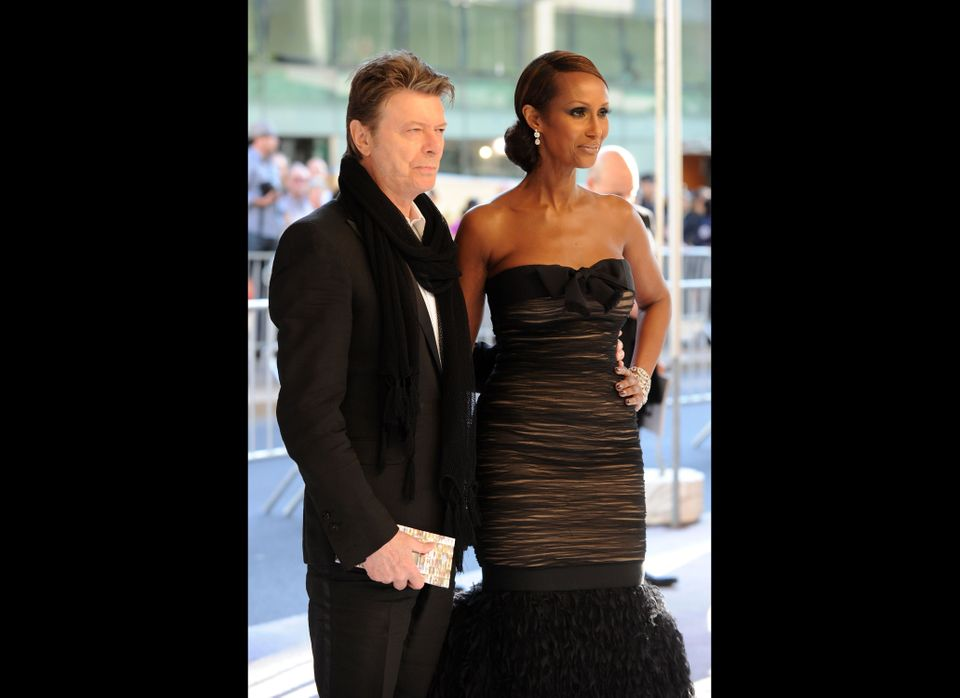 David Bowie (64) and Iman (56) have been married since 1992.