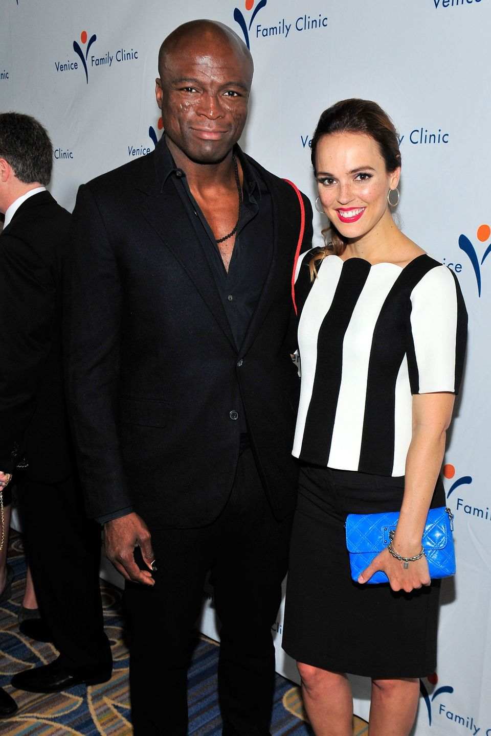 """Rumors that musician Seal, 50, and actress Erin Cahill, 33, are dating, started swirling after the <a href=""""http://www.usmaga"""