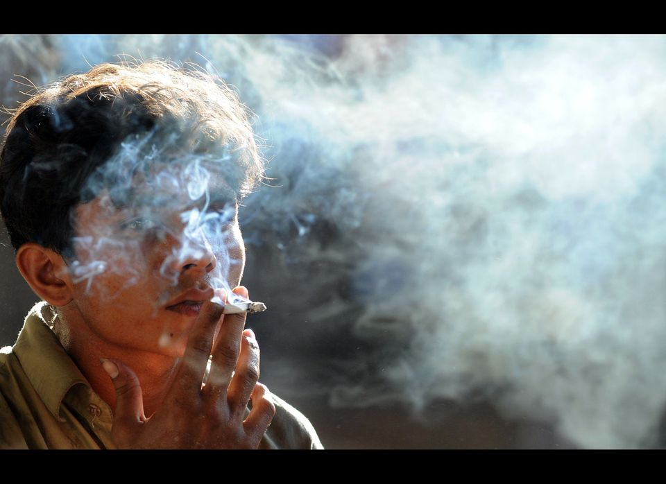 Smoking tobacco was found to contribute to nearly 23 percent of cancers in men and nearly 16 percent in women.