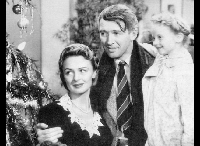 Jimmy Stewart is perfect in this story of a man who thinks his life is worthless, but an angel helps him realize that he's ma