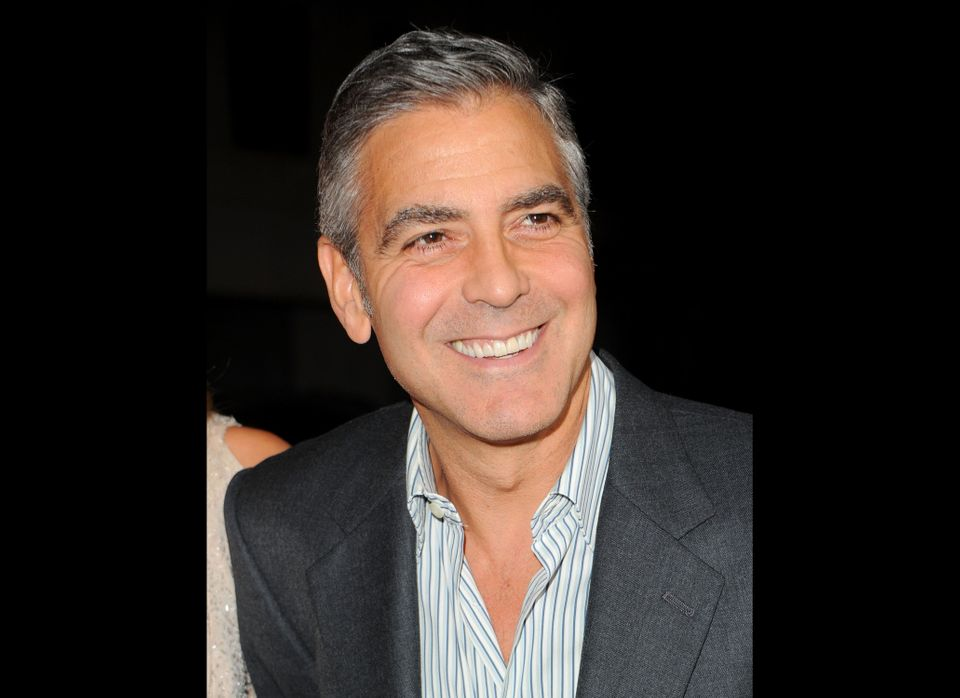 George Clooney, 50, who is living evidence that some people just get better with age. Good looks and great acting aside (watc
