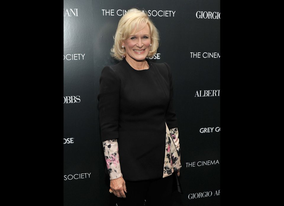 Glenn Close, actress in a leading role, 'Albert Nobbs'