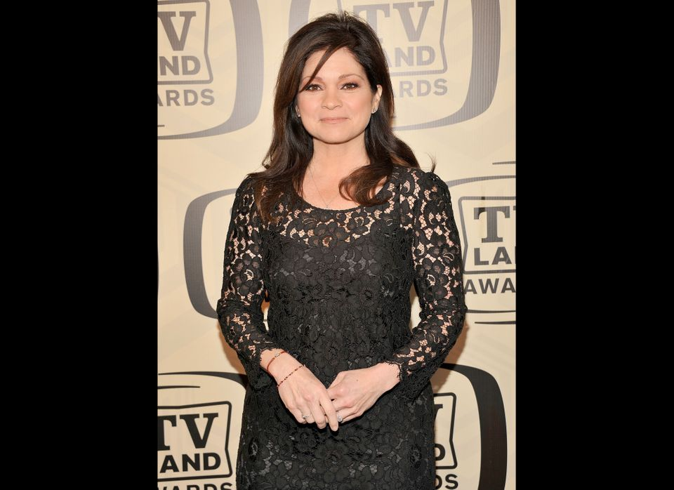 """Actress Valerie Bertinelli at the 10th Annual TV Land Awards in 2012. Bertinelli stars on the hit TV Land show """"Hot In Clevel"""