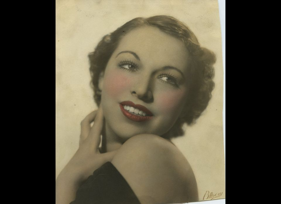 Ted Sutton's mother, Gerry Willow, in her early 20s. In 1932, during the Depression, Gerry attended a dance school. One day a