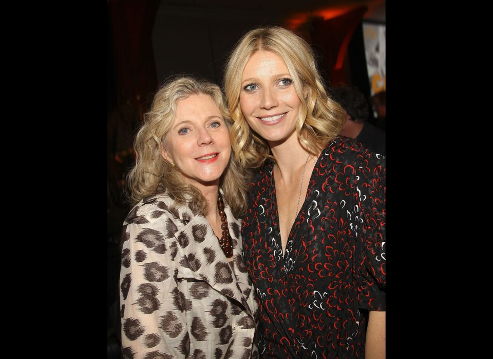 Blythe Danner, 69, with daughter Gwyneth Paltrow. Danner's son is director Jake Paltrow. Danner -- grandmother to Paltrow's A