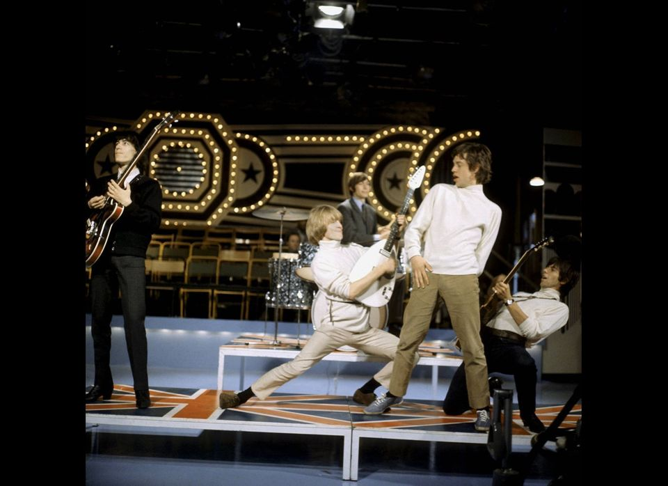 The Rolling Stones performing in 1965.