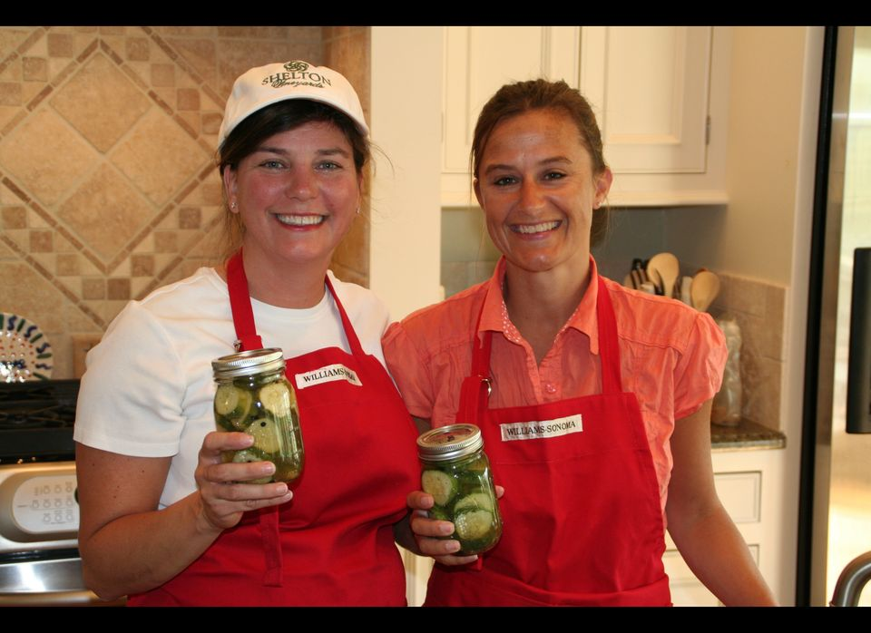 After the economy began to take a turn for the worse, Jenny Fulton (left) and her assistant, Ashley Furr (right), traded in t