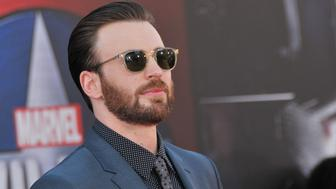 "Chris Evans arrives at Marvel's ""Captain America: Civil War"" Los Angeles Premiere held at the Dolby Theatre in Hollywood, USA."
