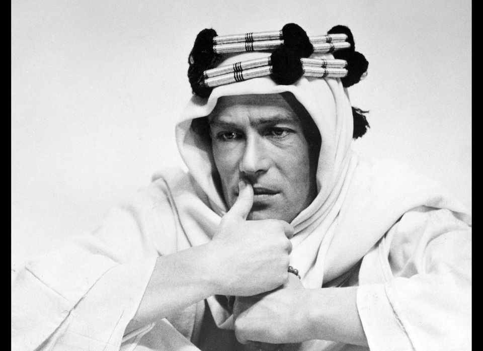 """Peter O'Toole received his first Best Actor nomination for his leading role in the 1962 film """"Lawrence of Arabia.""""  (AP Pho"""