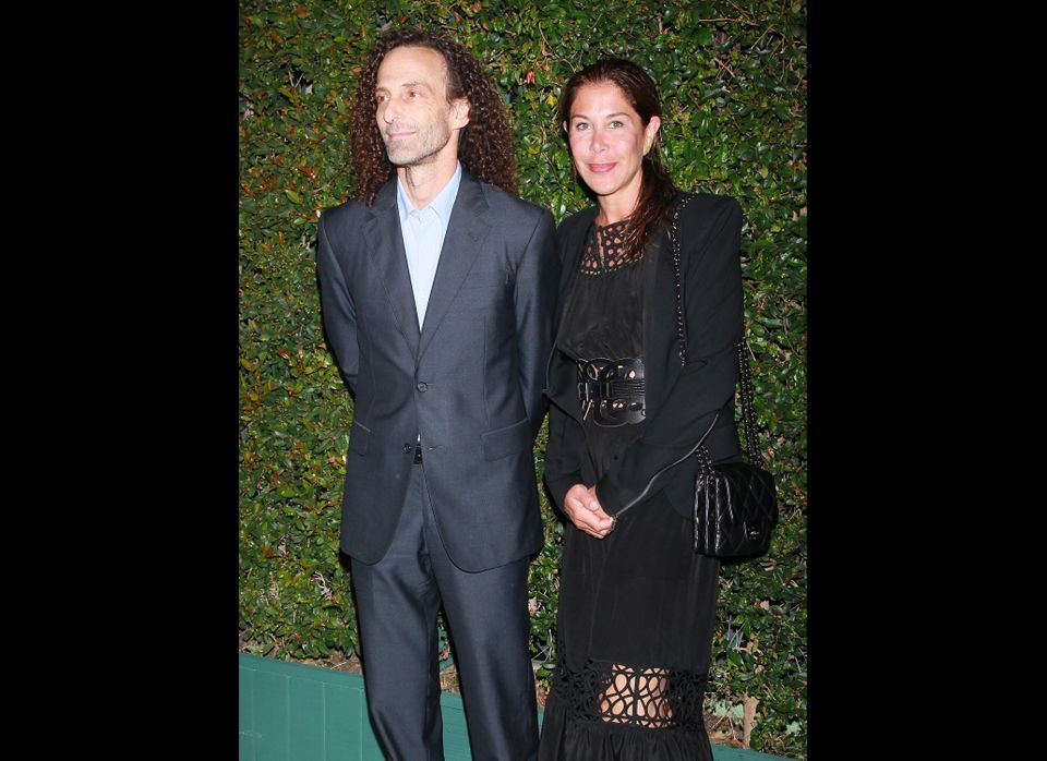 "This is fresh. We just <a href=""http://www.huffingtonpost.com/2012/08/13/kenny-g-divorce-lyndie-benson-gorelick_n_1773995.htm"