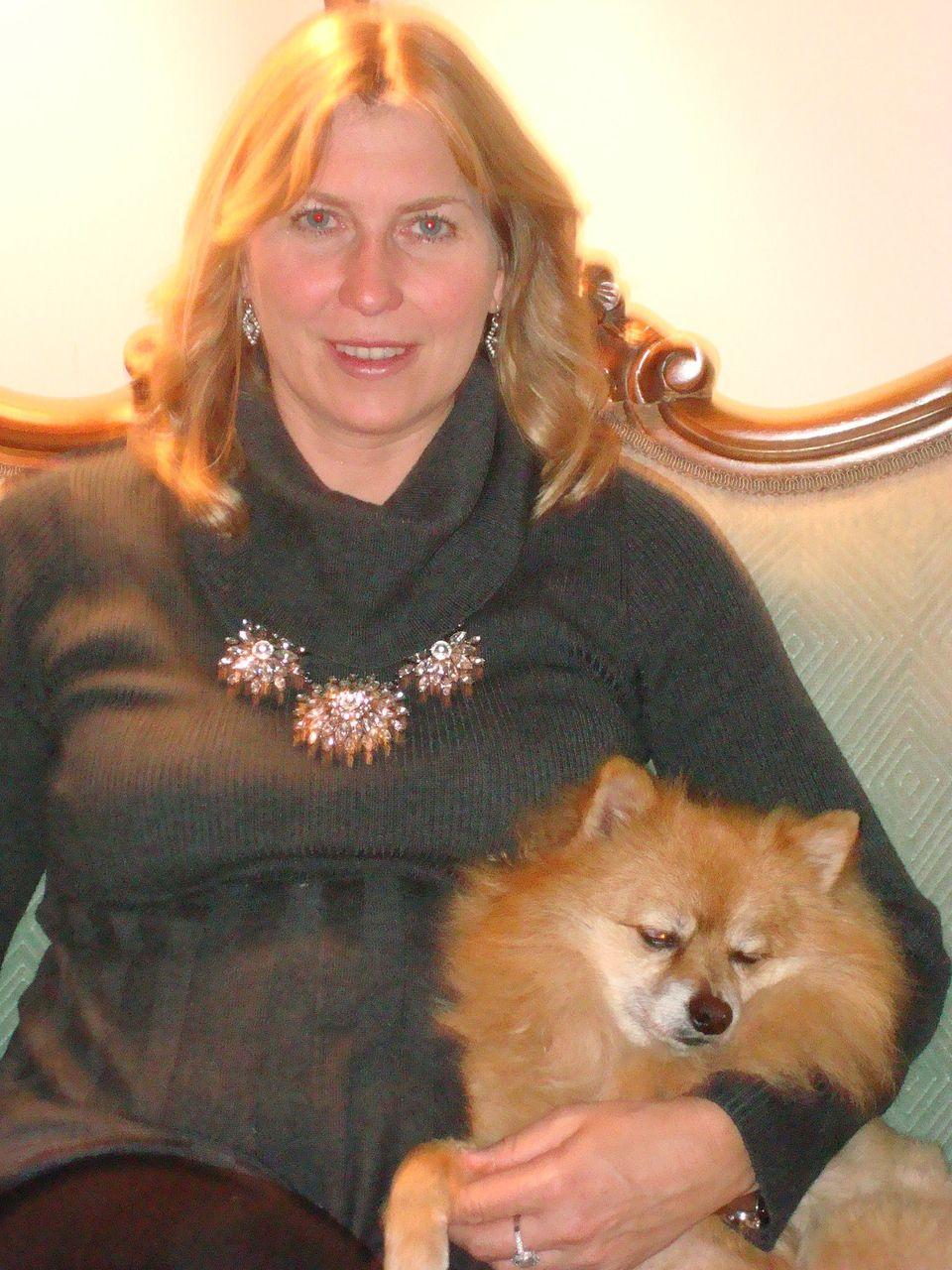 Heidi Kleis on Christmas in 2011.