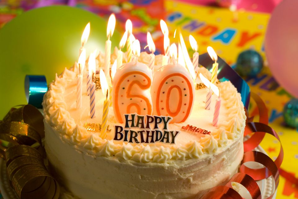 1. Every second, two people around the world celebrate their sixtieth birthday.